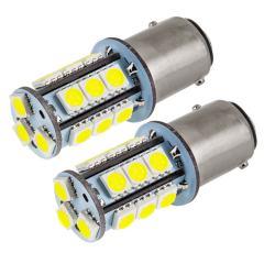 1157 LED Bulb - Dual Function 18 SMD LED Tower - BAY15D Bulb