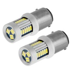 1157 CAN Bus LED Bulb - Dual Function 30 SMD LED Tower - BAY15D Bulb