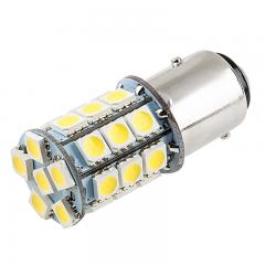 1157 LED Bulb - Dual Function 27 SMD LED Tower - BAY15D Bulb - Red
