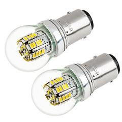 1157 LED Bulb w/ Stock Cover - Dual Function 36 SMD LED Tower - BAY15D Bulb