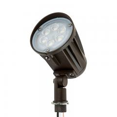 15 Watt Knuckle-Mount LED Spotlight - Bullet Style - 5000K - 100 Watt Equivalent - 1,500 Lumens
