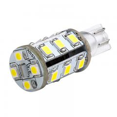 921 LED Boat and RV Light Bulb - 19 SMD LED - Miniature Wedge Retrofit - 260 Lumens - Red