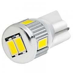 194 LED Boat and RV Light Bulb - 6 SMD LED Tower - Miniature Wedge Retrofit - 106 Lumens