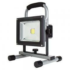 20W Portable Rechargeable LED Work Light - Dimmable - 7000K - 1,400 Lumens