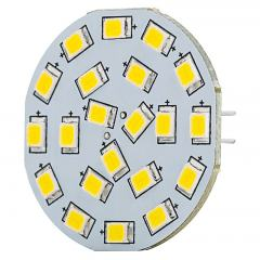 G4 Boat and RV LED Light Bulb - Bi-Pin LED Disc - 40W Equivalent - 320 Lumens