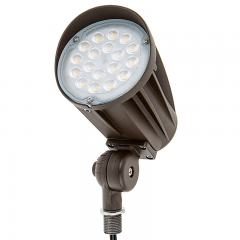 30W Knuckle Mount LED Spotlight - Bullet Style - 70W Equivalent - 12V AC/DC - 2900 Lumens