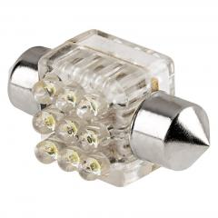 DE3175 LED Bulb - 9 LED Festoon - 30mm