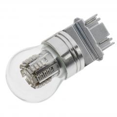 3157 LED Bulb w/ Stock Cover - Dual Function 36 SMD LED Tower - Wedge Base