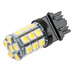 3156/3157 CK LED Bulb - Dual Function 27 SMD LED Tower - Wedge Base - Amber