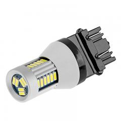 3156/3157 CAN Bus LED Bulb - Dual Function 30 SMD LED Tower - Wedge Base - Amber