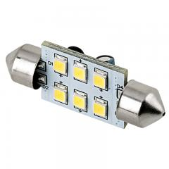 3710 LED Bulb - 6 SMD LED Festoon - 38mm - Warm White