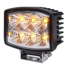 "Amber Off-Road LED Work Light/LED Driving Light - 4.5"" Rectangular - 10W - 321 Lumens"