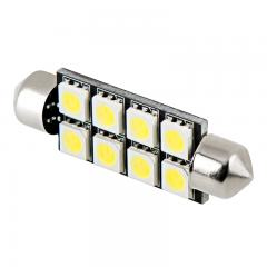 578 LED Boat and RV Light Bulb - 8 LED Festoon - 44mm - 60 Lumens