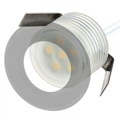 LED Mini Recessed Lights - 0.5 Watt - 5 Watt Equivalent - Mini Round Recessed Accent Light