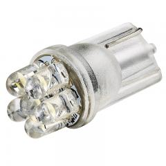 194 LED Bulb - 6 LED - Miniature Wedge Base