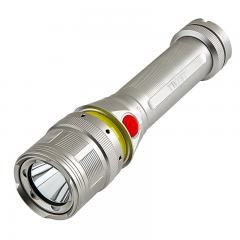 LED Flashlight - NEBO TWYST with Built in 360 degree COB Work Light - 250 Lumens