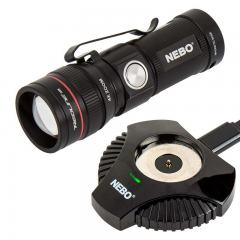 Rechargeable LED Flashlight with Charging Dock - NEBO REDLINE RC - 320 Lumens