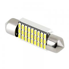 6418 CAN Bus LED Bulb - 27 SMD LED Festoon - 36mm - Cool White