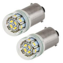 67 LED Light Bulb - (12) SMD LED Tower - BA15S Base