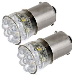 67 LED Bulb - 15 LED Forward Firing Cluster - BA15S Base