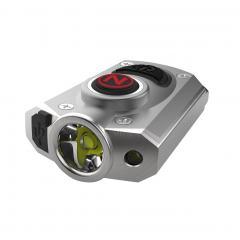Ultra-Bright Rechargeable LED Pocket Light - NEBO MYCRO LED Flashlight w/ Turbo Mode - 400 Lumens