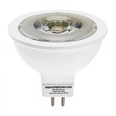 MR16 LED Boat and RV Light Bulb - 1 COB LED Spotlight Bi-Pin Bulb - 60 Watt Equivalent - 685 Lumens