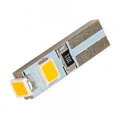 74 LED Boat and RV Light Bulb - 3 SMD LED - Miniature Wedge Retrofit - Amber