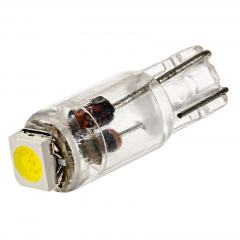 74 LED Boat and RV Light Bulb - 1 SMD LED - Miniature Wedge Retrofit