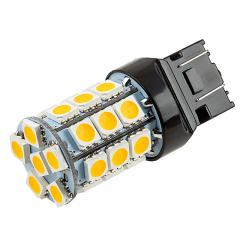 7440/7443 CK LED Bulb - Dual Function 27 SMD Tower - Wedge Base - Amber