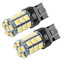 7440/7443 CK LED Bulb - Dual Function 27 SMD Tower - Wedge Base