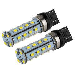 7443 LED Bulb - Dual Function 28 SMD LED Tower - Wedge Base