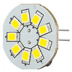 G4 LED Bulb - 2 Watt (15 Watt Equivalent) - 12V AC/DC - Bi-Pin LED Disc - White - 130 Lumens