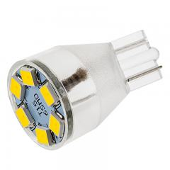 921 LED Boat and RV Light Bulb - 6 LED Forward Firing Miniature Wedge Retrofit - 100 Lumens