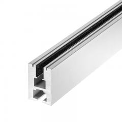 Aluminum LED Channel for 6mm Glass - KLUS EX-ALU Series