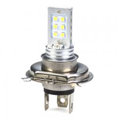 H4 LED Fog Light/Daytime Running Light Bulb - 12 SMD LED Tower