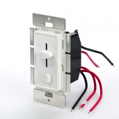 SLVDx-60W-3W LED 3-Way Switch and Dimmer for Standard Wall Switch Box