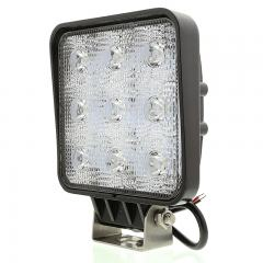 """LED Auxiliary Light - 5"""" Square 27W Heavy Duty Off Road Driving Light"""