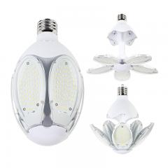 60W Adjustable LED Corn Bulb with Motion Sensor - (5) Adjustable LED Modules - 175W Equivalent - EX39/E39 Mogul Base - 8400 Lumens