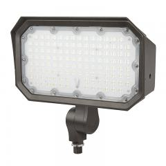 100W Knuckle Mount LED Flood Light - 400W Equivalent - 13000 Lumens