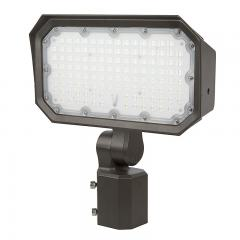 100W Slipfitter Mount LED Flood Light - 400W Equivalent - 13000 Lumen