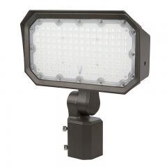 100W Slipfitter Mount LED Flood Light - 400W Equivalent - 13000 Lumen
