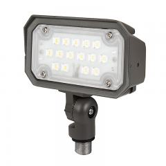 15W Knuckle Mount LED Flood Light - 70W Equivalent - 1800 Lumens