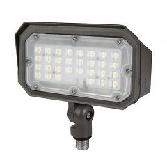30W Knuckle Mount LED Flood Light - 100W Equivalent - 3600 Lumens