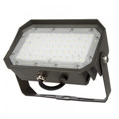 50W Yoke Mount LED Flood Light - 150W Equivalent - 6000 Lumens