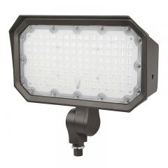 70W Knuckle Mount LED Flood Light - 250W Equivalent - 9100 Lumens
