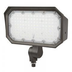 70W Knuckle Mount LED Flood Light - 250W Equivalent - 9100 Lumens
