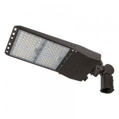 300W LED Parking Lot - LED Shoebox Area Light - Knuckle Slipfitter Mount - 1000W Equivalent - 42000 Lumens
