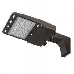 150W LED Parking Lot Light - LED Shoebox Area Light with Optional Photocell - Fixed Arm Mount - 400W Equivalent - 21000 Lumens