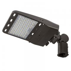 185W LED Parking Lot/Shoebox Area Light - 29,500 Lumens - 750W Metal Halide Equivalent - 5000K - Knuckle Slipfitter Mount
