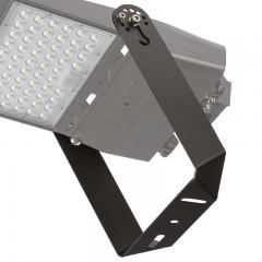 Adjustable U-Bracket for LED Parking Lot Lights